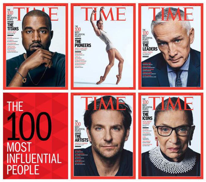 Nejvlivnější lidé světa podle časopisu TIME
