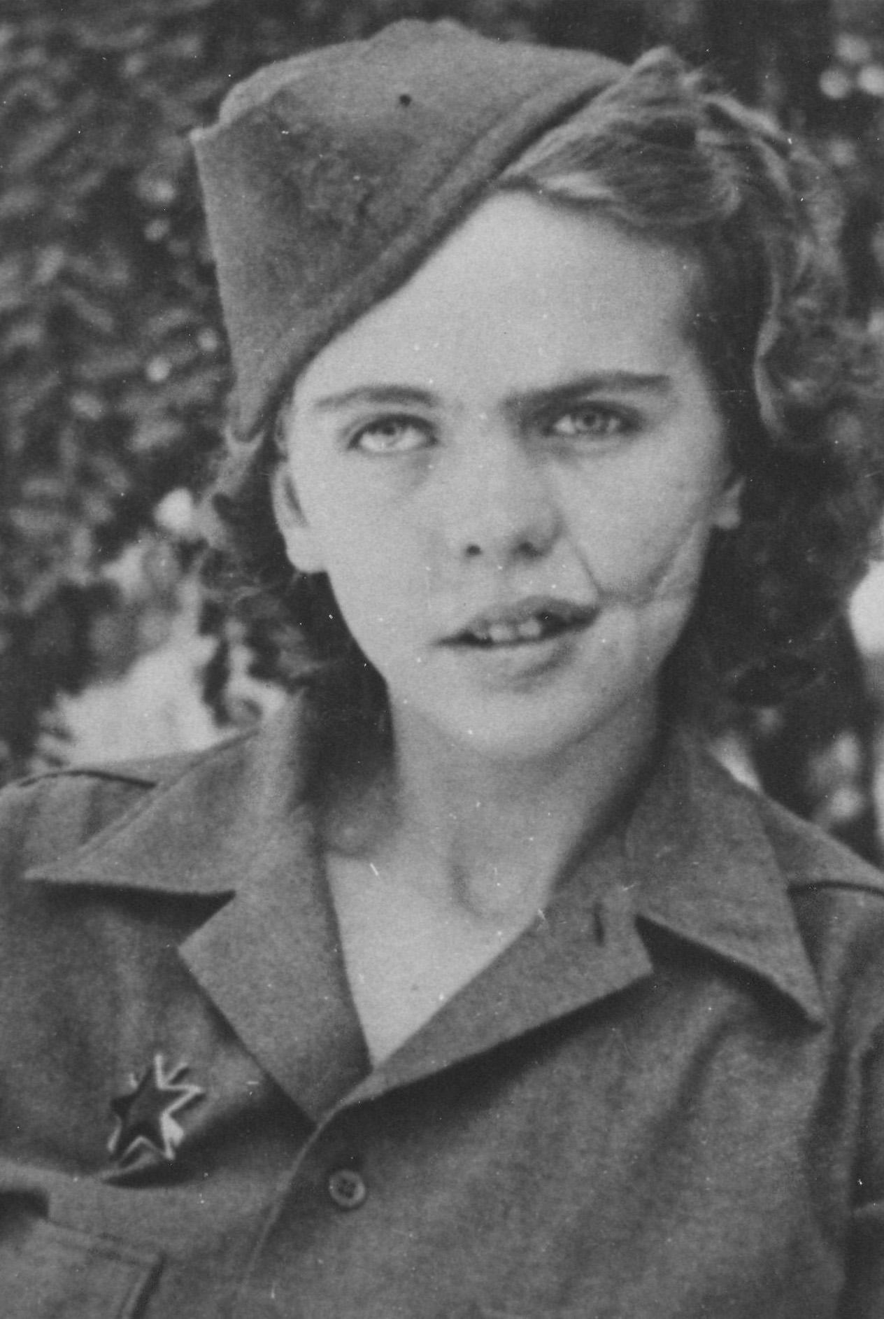 Albina Mali-Hočevar, bojovnice II. světové války