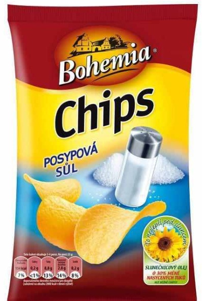 Nová příchuť brambůrků Bohemia Chips