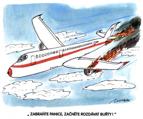 Letadlo a buřty