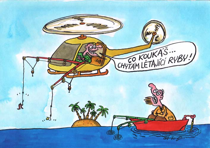 Vrtulnikem Na Ryby Chi Cz