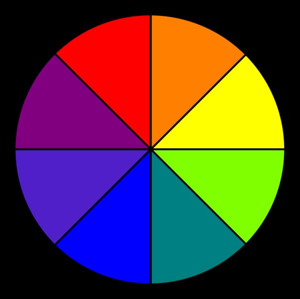 Magie barev, symbolický význam barev
