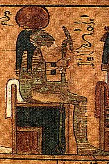 Tefnut, bohyně vlhkosti a vody