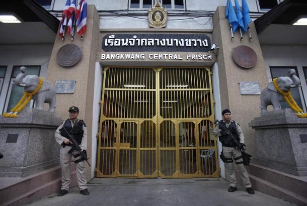 Vězení Bang Kwang v Bangkoku