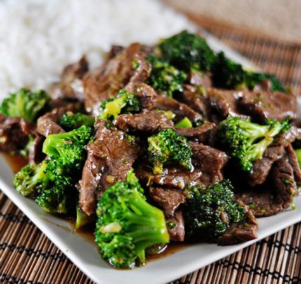 Brokolice s masovou omáčkou