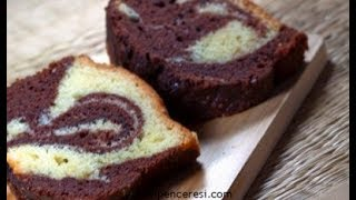 Dvoubarevný dort