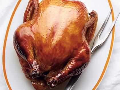 Kuře naplacato s tymiánem