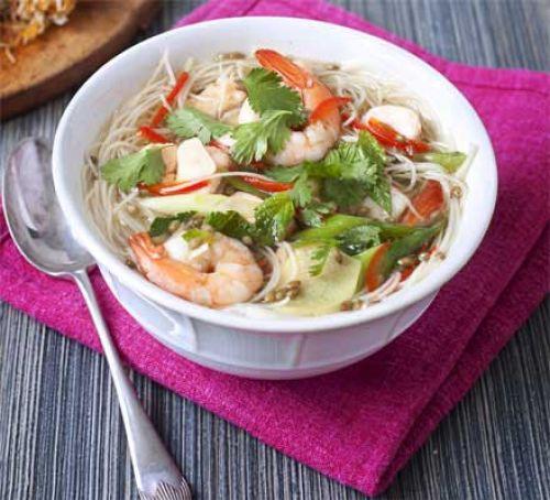 Kyselá rybí polévka se zeleninou
