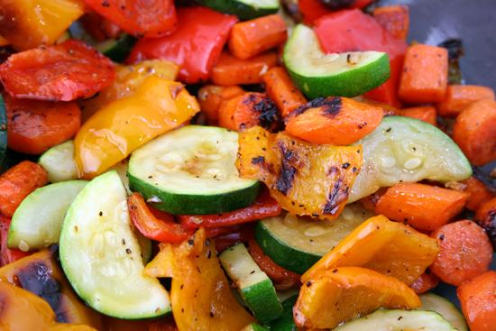 Restovaná sezonní zelenina