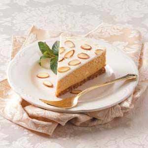 Tvarohový koláč s mandlemi