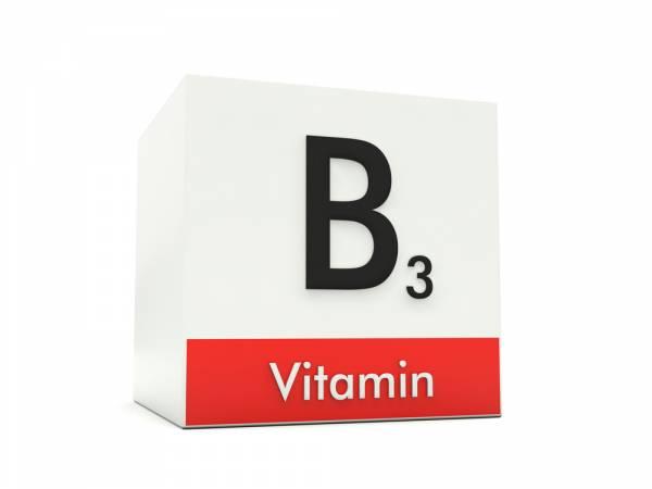 Vitamín B3 Niacin, bez vitamínu B3 nemůže pracovat mozek