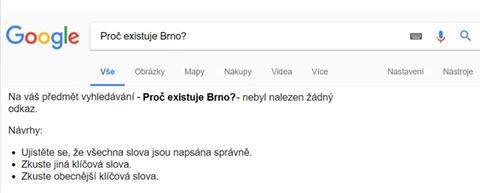 Brno na Google