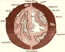 mapa duté Země