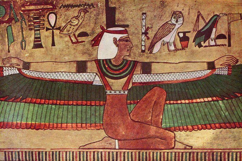 Isis, staroegyptská bohyně všeho