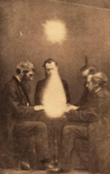 Média komunikující s duchy a dalšími entitami