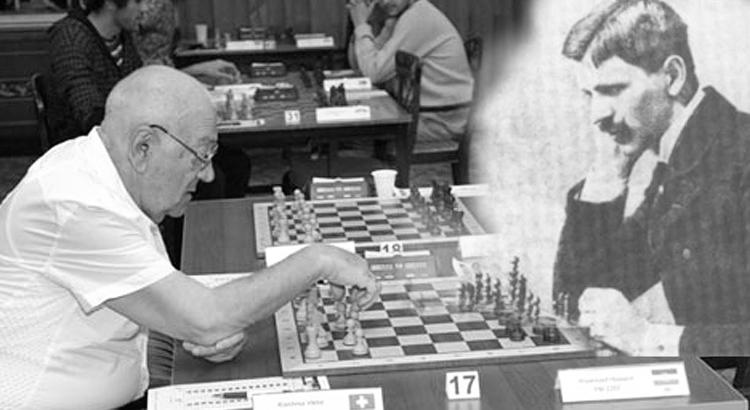 Šachová partie ze záhrobí, Korčnoj vs. Maroczy, hra s duchem