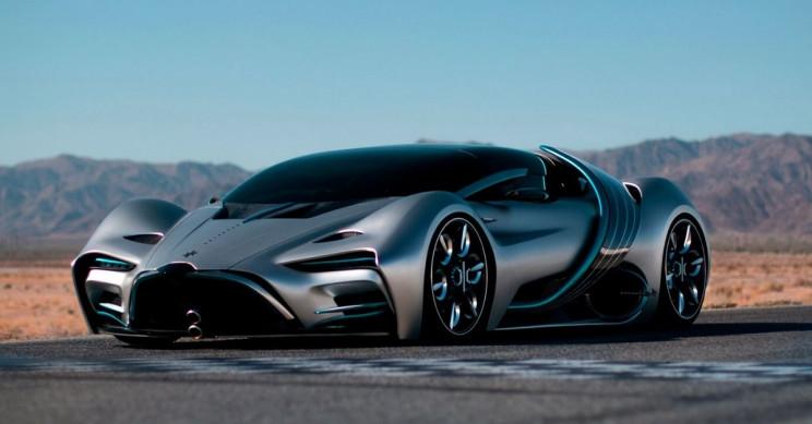 Automobilová budoucnost: vodíkové auto Hyperion XP-1