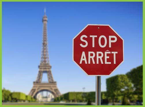Stop v Paříži